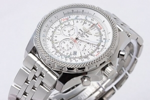 Fancy Breitling for Bentley Chronograph Arbeitsgruppe Quartz Edelstahl AAA Uhren [C8S6]