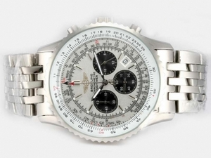 Moderne Breitling Bentley Flying B Chronograph Automatic-Blue Dial AAA Uhren [W6S4]