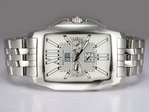 Vintage Breitling Bentley Flying B Chronograph Automatic-White Dial AAA Uhren [K3H6]