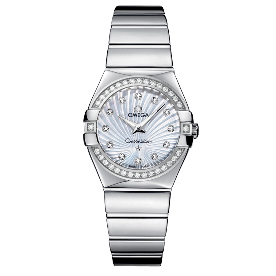 Copie montre 123.15.27.60.55.004 montres Omega Constellation Mesdames Quartz [9815]