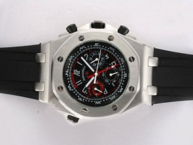Gorgeous Audemars Piguet Royal Oak Chronograph Automatic with Black AAA Watches [K6L9]