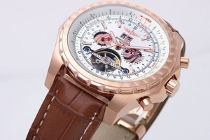 Popular Breitling for Bentley Motors Tourbillion Skeleton Automatic AAA Watches [N7A9]