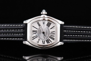 Fancy Cartier Roadster automatic with Black Dial and Ssband Strap AAA Watches [I9M4]