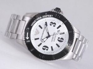 Cool Emporio Armani with White Dial AAA Watches [Q9W2]