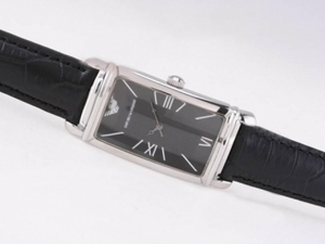 Gorgeous Emporio Armani with Black Dial AAA Watches [V3P3]