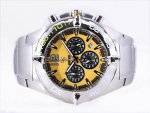 Fancy Ferrari Working Chronograph with Yellow Dial-New Version AAA Watches [J3B4]