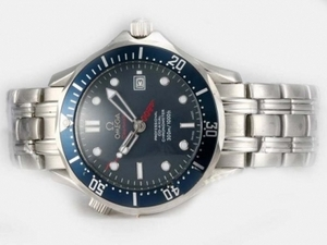Cool Omega Seamaster 007 James Bond With Blue Dial-2008 Updated Version AAA Watches [T7I4]