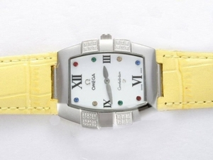 Vintage Omega Constellation Diamond with White Dial Lady Size AAA Watches [T3D4]
