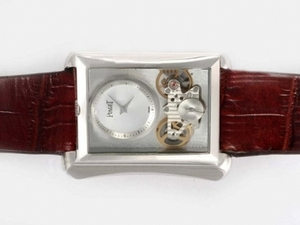 Fancy Piaget Emperador Tourbillon Automatic with White Dial-New Version AAA Watches [A3L5]