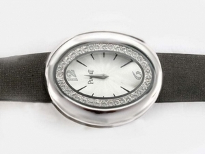 Gorgeous Piaget Dream Team No1with Diamond Bezel-White Dial AAA Watches [Q8V7]