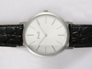 Great Piaget Altiplano XL Manual Winding with white dial AAA Watches [H6I3]