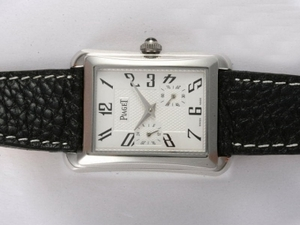 Great Piaget Emperador Automatic with white Dial AAA Watches [D7T1]