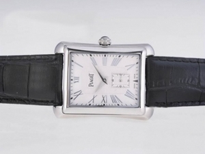 Great Piaget Emperador Manual Winding with White Dial AAA Watches [G9M2]