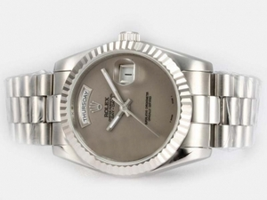 Fancy Rolex Day-Date Automatic with Gray Dial AAA Watches [L5P6]