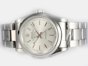 Great Rolex Air-King Oyster Perpetual Automatic with White Dial AAA Watches [R4N1]