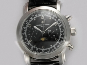 Fancy Vacheron Constantin Classic Chronograph Automatic with Black Dial AAA Watches [A7H4]