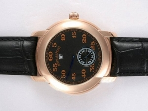 Cool Audemars Piguet Jules Audemars Automatic Rose Gold Case AAA Watches [V2O7]