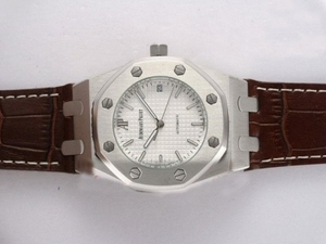 Cool Audemars Piguet Royal Oak Automatic White Dial AAA Watches [X4H6]