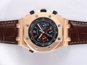 Cool Audemars Piguet Royal Oak Chronograph Automatic Rose Gold AAA Horloges [T5K4]