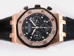 Fancy Audemars Piguet Royal Oak Cronografo Asia Valjoux 7750 Movimento AAA Orologi [M3B5]