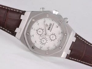Gorgeous Audemars Piguet Royal Oak 30th Anniversary Working Chronograph AAA Watches [A1I2]