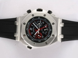 Gorgeous Audemars Piguet Royal Oak Chronograph Automatic met Black AAA Watches [K6L9]