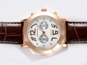 Modern Audemars Piguet Jules Audemars Chronograph Automatic Rose Gold AAA Watches [N4S5]