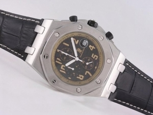 Modern Audemars Piguet Royal Oak Offshore Working Chronograph with Black Dial AAA Watches [B3U5]