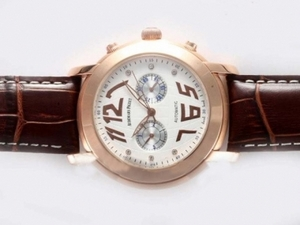 Quintessential Audemars Piguet Jules Audemars Chronograph Automatic Rose AAA Watches [C5R6]