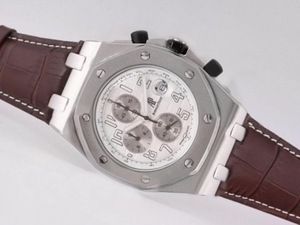 Vintage Audemars Piguet Royal Oak Offshore Working Chronograph with White Dial AAA Watches [U6A1]