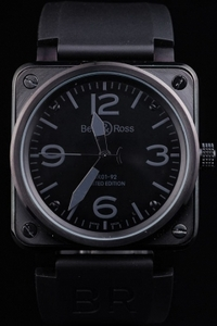 Cool Bell & Ross BR 01-92 Carbon AAA Watches [C4W2]