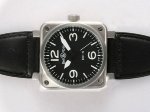 Gorgeous Bell & Ross BR 01-92 Automatic with Black Dial 46x46mm AAA Watches [K9G4]