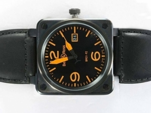 Gorgeous Bell & Ross BR 01-92 Big Date Automatic PVD Casing AAA Watches [K5F6]