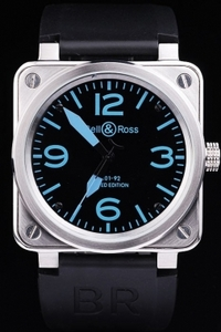 Gorgeous Bell & Ross BR 01-92 Carbon AAA Watches [M8O3]