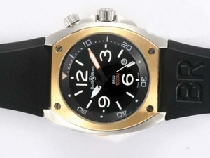 Modern Bell & Ross BR02 Instrument Diver Automatic Two Tone Case AAA Watches [U1R4]