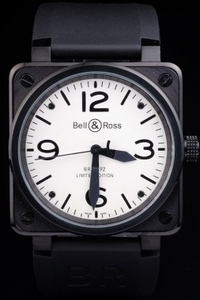 Perfect Bell & Ross BR 01-92 Carbon AAA Watches [A9E3]