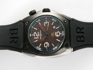Perfect Bell & Ross BR02 Instrument Diver Automatic PVD Case AAA Watches [Q8H4]