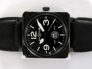 Quintessential Bell & Ross Raid Automatic PVD Casing with Black 46x46mm AAA Watches [X7Q4]