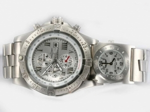 Great Breitling Chrono Avenger Chronograph Automatic with White Dial AAA Watches [C7J1]