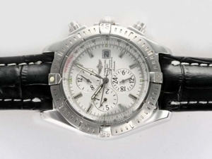 Gorgeous Breitling Chronomat Evolution Chronograph Automatic med
