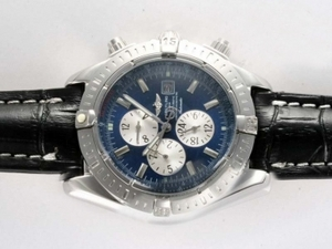 Great Breitling Chronomat Evolution Chronograph Automatic med Bl