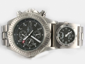 Cool Breitling Chrono Avenger/UTC Chronograph Automatic with Gray Dial AAA Watches [V3E1]