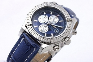 Cool Breitling Chronomat Evolution Working Chronograph Quartz AAA Watches [R2Q9]