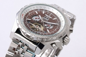 Cool Breitling for Bentley Motors Automatic Tourbillon Skeleton AAA Watches [J9V5]
