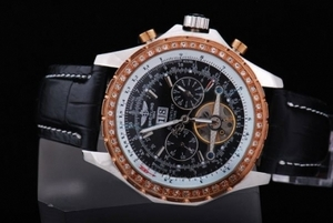 Прохладный Breitling Bentley для Турбийон автомат серебристый корпус с Роуз ААА часы [T7L2]