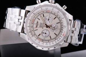 Fancy Breitling Bentley 6.75 Big Date Automatic Movement Silver Case AAA Watches [T4M4]