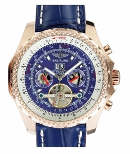 Fancy Breitling Bentley Mulliner Tourbillon BR-1303 AAA Relojes [L8O2]