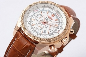 Fancy Breitling For Bentley Chronograph Quartz Movement Rose Gold Case AAA Watches [R5S4]
