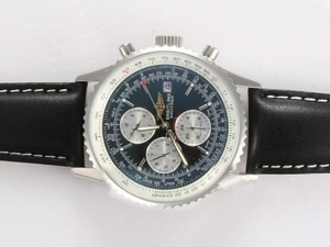 Fancy Breitling Navitimer Chronograph Automatic with Black Dial AAA Watches [S7V5]