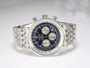 Fancy Breitling Navitimer Working Chronograph with Blue Dial AAA Watches [Q1A5]